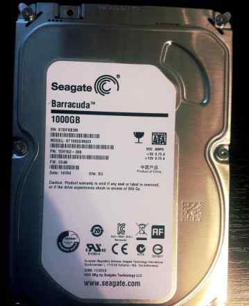 HDD Seagate 1000Gb Barracuda 3.5