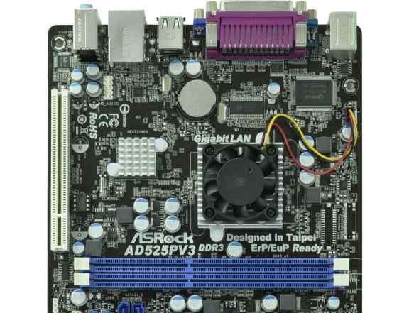 Материнская плата mini ITX ASRock AD525PV3