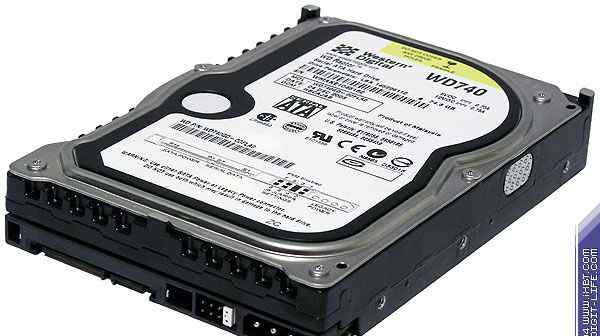 Western Digital Raptor WD740GD 10000rpm 74.3GB 8Mb