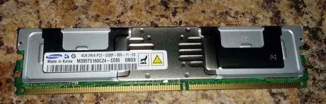 4x4GB(16GB) 5300F DDR2 -667Mhz для сервера - новая
