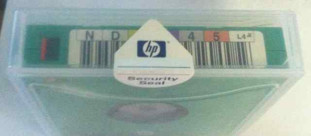 HP C7974A Ultrium LTO4 data cartridge, 1.6TB RW