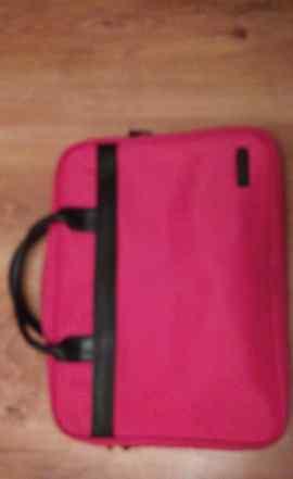 Розовая сумка для ноутбука б у