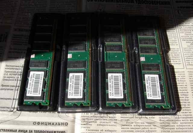 Оперативная память DDR Samsung 4gb
