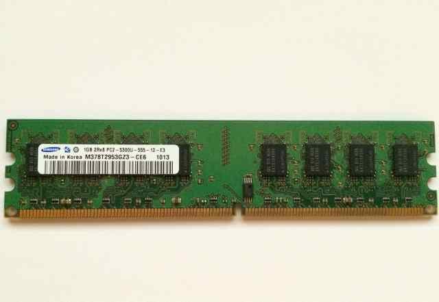 Память 1 GB DDR2 (много)