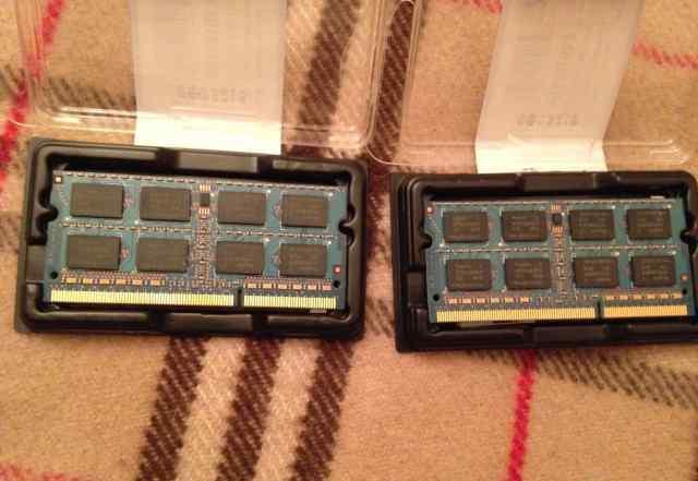 Оперативная память sodimm PC3-8500 DDR3 1066 2 gb