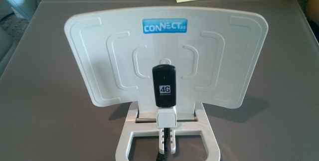 USB модем 4G Megafon и усилитель сигнала Connect