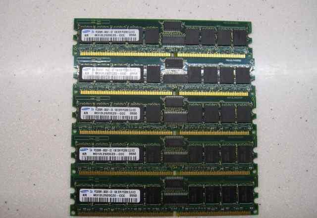 Серверная DDR1 REG ECC 400MHz