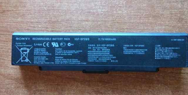 Продаю батарею для ноутбука Sony Vaio VGN-NR31ZR