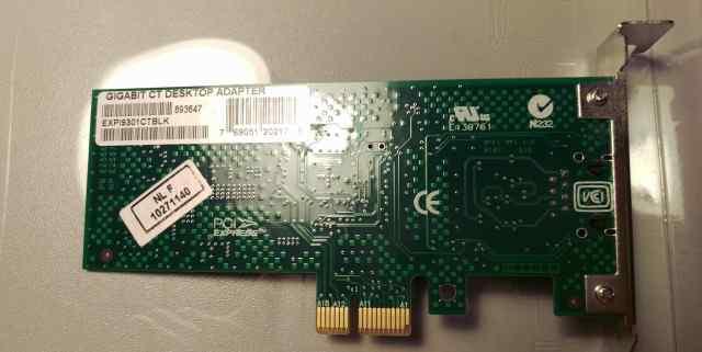 Сетевая карта Intel Gigabit CT Descktop Adapter