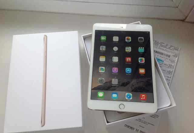 iPad Mini 3 16gb Wi-Fi Золотой цвет