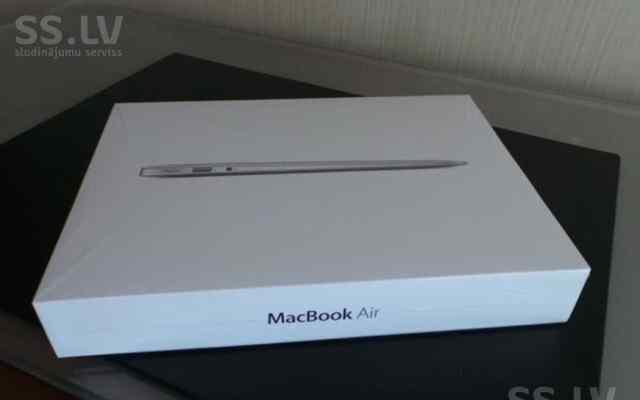 Новая коробка от Macbook