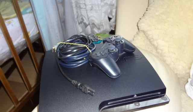 Консоль Sony Playstation 3 Slim 320gb + 20 игр