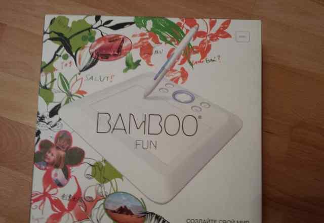 Графический планшет bamboo FUN белый