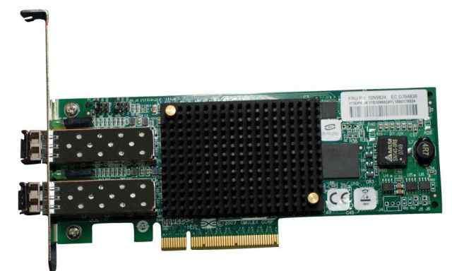 Оптическая карта 8Gbit, 2 порта, PCI-E