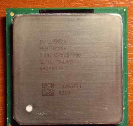 Intel Pentium 4 2.8 MHz (Socket 478, 800MHz)