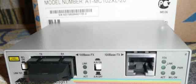 Медиаконвертеры Allied Telesyn AT-MC102XL