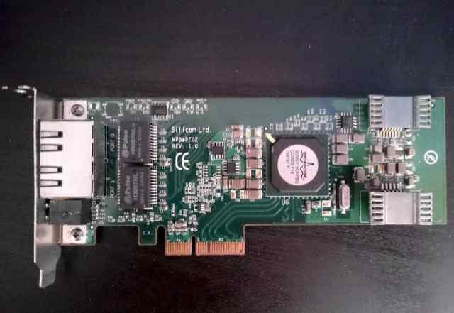 Сетевые карты 2 порта 1 Гбит/с Silicom PEG-2