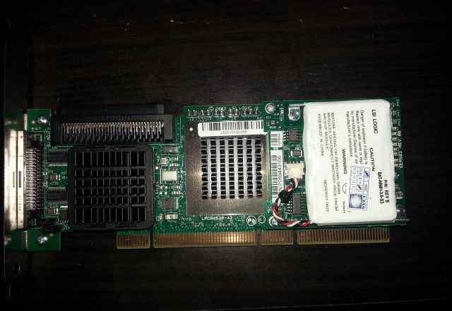 LSI pcbx520-A2 scsi Raid Controller PCI-X