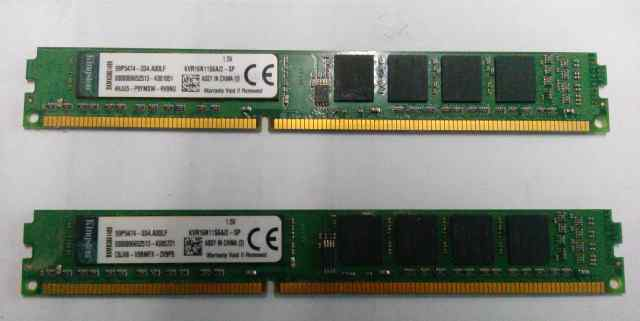 DDR3 Kingston KVR16N11S6A/2-SP 2Gb