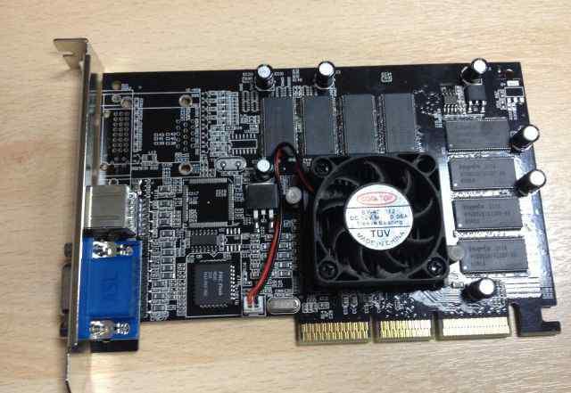 Видеокарта AGP 8X Nvidia MX440 SE 128MB
