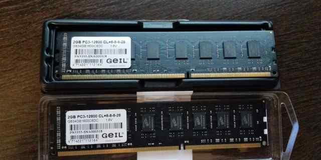Модуль памяти DDR3 (2x2GB) Black Dragon PC3-12800