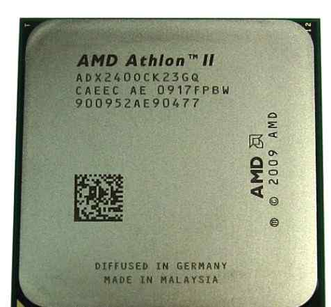 CPU Socket AM3 AMD Athlon II X2 240 2.8 Ghz
