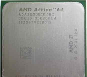 Socket 939 AMD Athlon 64 3000+ (1.8GHz)