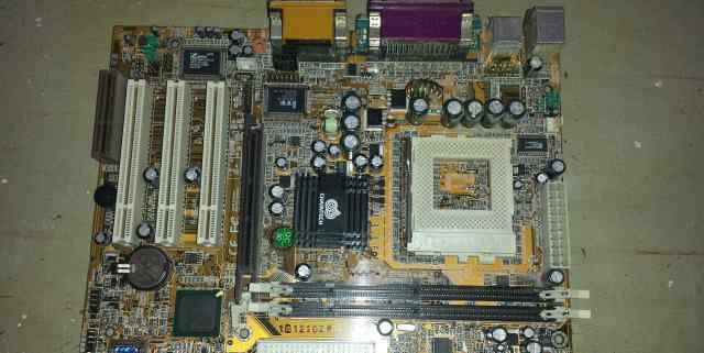 Материнская плата Chaintech 6OJA3T-C100C AMD Socke