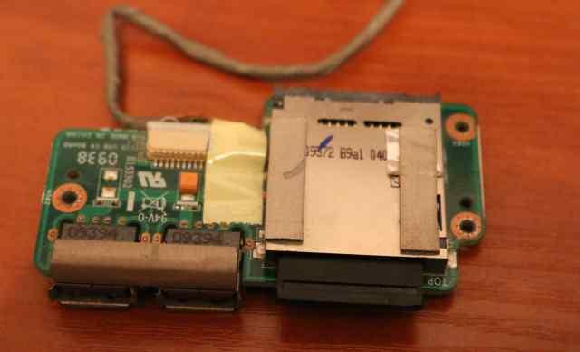 Кардридер с 2 USB от asus K61IC