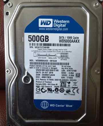 Жесткий диск western digital 500 mb