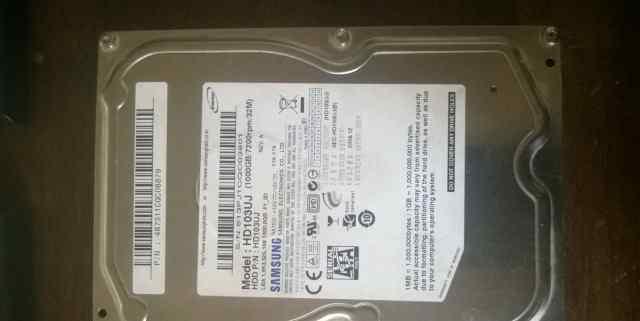 Жесткий диск Samsung HD103UJ 1 Тб