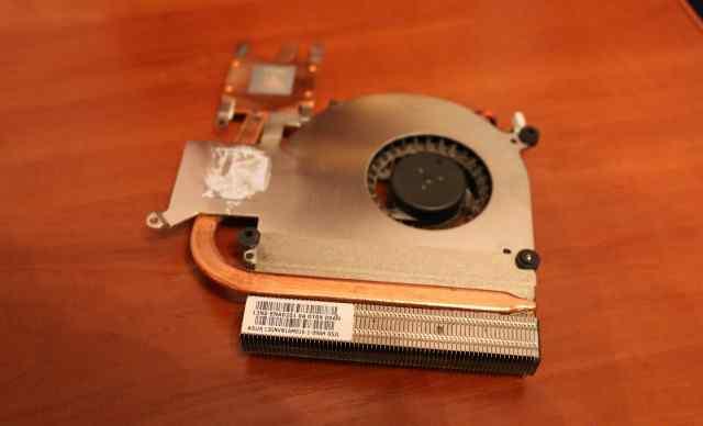Система охлаждения на asus K61IC