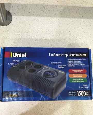 Стабилизатор напряжения Uniel U-PDT-1500/1