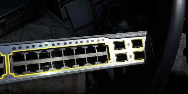 Cisco Коммутатор Catalyst 3750 Серии (WS-C3750G-48
