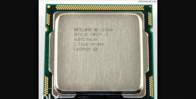 Процессор Intel core i3 - 560
