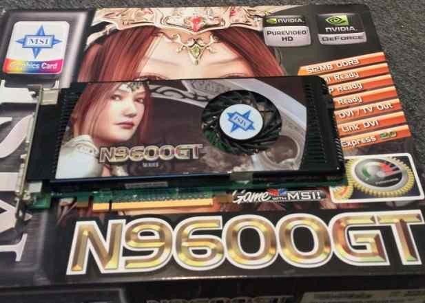 Видеокарта nvidia 9600GT 512 Mb, 256 bit