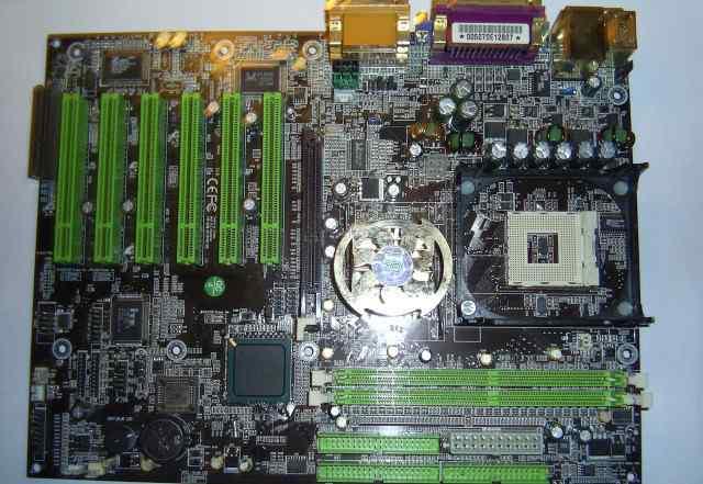 Материнская плата Chaintech, сокет 478, AGP, DDR