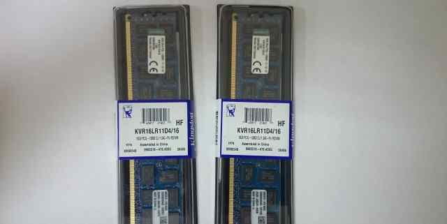 Kingston KVR16LR11D4/16 ECC Reg (16Gb 12800 rdimm)
