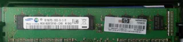 Планка памяти 1Gb 1Rx8 PC3-10600E-9-10-D0
