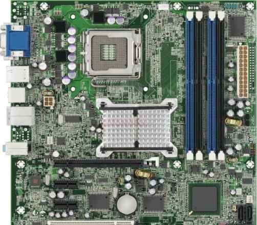 Материнские платы socket 775, AMD