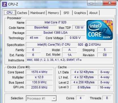 Intel Core i7-930 Bloomfield (2900MHz) 1366 + мать