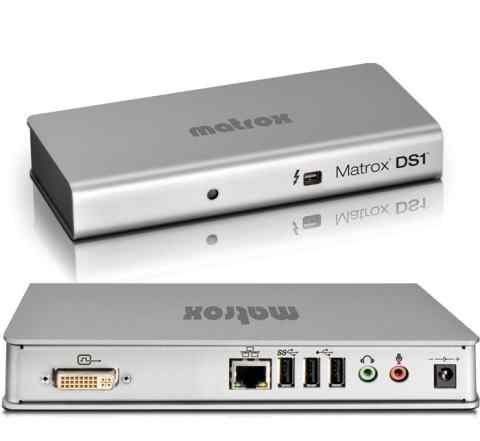 Matrox DS1/hdmi - док-станция для макбука