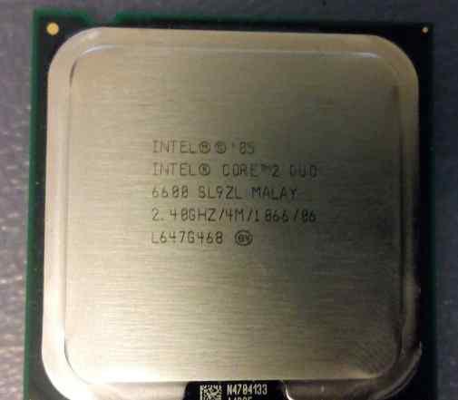 Процессор Core2 Duo 6600 2.40GHz 4Mb S775