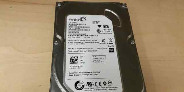 Seagate Barracuda 500GB 7200 RPM ST500DM002