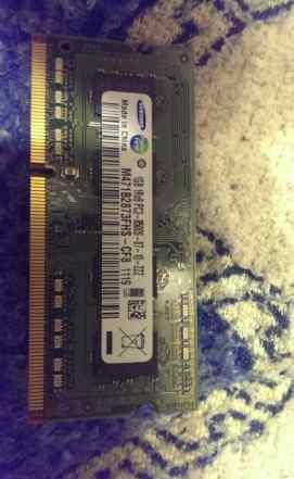 Sodimm DDR3 1Gb Samsung