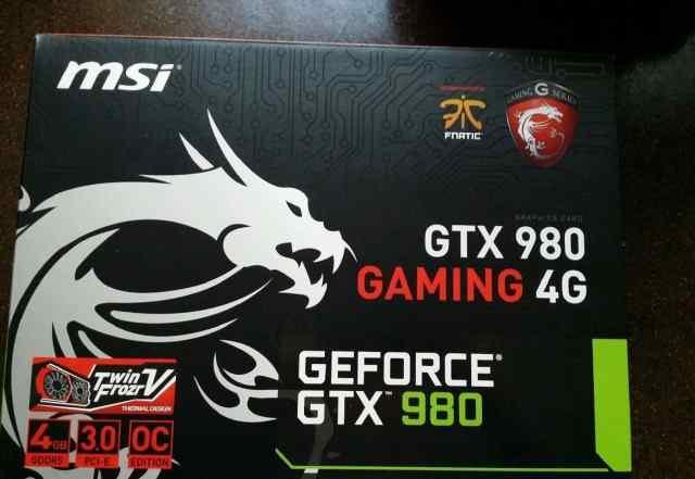 MSI Geforce GTX 980 новые с гарантией