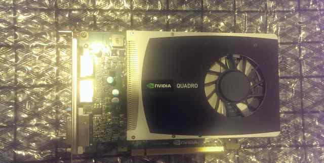 Профессиональная видеокарта Nvidia Quadro 2000 1Gb