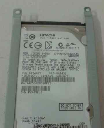 HDD Hitachi 500 GB