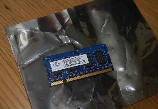 Память для ноутбука Nanya SO-dimm DDR2 1Gb