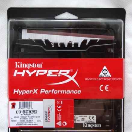 Память 2x4 Гб Kingston HyperX Beast KHX16C9T3K2/8X